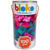 Bloko: 100 darabos tüskés építőjáték hengerben, lányos
