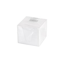 BLUERING 8x8x6,5 cm fehér kockatömb transzparens adagolóban jegyzettömb