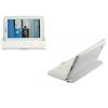 Bluetooth billentyűzetes mappa tok, Samsung Galaxy Tab 3 8.0  SM-T310, fehér, QWERTY, BRANDO