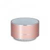 Bluetooth hordozható hangszóró, 3 W, BT v3.0, PBS-100, vörösarany
