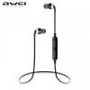 Bluetooth sztereó headset, nyakba akasztható, multipoint, AWEI, ezüst