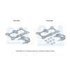 BM CATALYSTS Nyomásvezeték, nyomásérzékelő (korom-/részecskeszűrő) BM CATALYSTS Post-DPF Pressure Pipe PP11024B