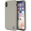 BMW Silicone Hard Case iPhone X - szürke