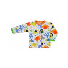 Bobas Fashion Baba kabátka Bobas Fashion Állatkert narancssárga