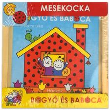 Bogyó és Babóca mesekocka - Házikók puzzle, kirakós