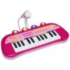 BONTEMPI : 24 billentyűs szintetizátor mikrofonnal - rózsaszín