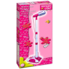 BONTEMPI iGirl: állványos mikrofon - fehér-pink
