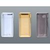 Bony+ Érintőkapcsolós plazma öngyújtó HT024 Gentelo + Lézergravírozás lehetősége Ezüstszín + Lézergravírozás lehetősége