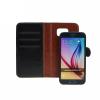 Book + szilikon tok - Apple iPhone 4, 4S - fekete
