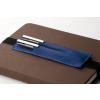 Bookchair Bőrből készült tolltartó tok és könyvjelző Bookchair Walden Kék