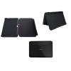 Bőrtok, Samsung P7300 Galaxy Tab mappa tok 8.9, gyári, SAM-0307, fekete