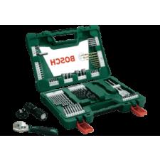 Bosch 83 részes V-Line TiN fúró- és bitkészlet, LED-es zseblámpával és állítható villáskulccsal (2607017193) elemlámpa