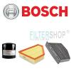 Bosch Audi A3 1.8 TFSi (179 LE) BOSCH szűrőszett + Castrol Edge Titanium FST 5W30 LL 4+1 liter