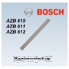 Bosch AZB 610 Hosszabbító, ? 80 mm, L=500 mm