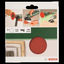 Bosch CSISZOLÓLAP 5DB D:115MM G:180 PAPÍR SAROKCSISZOLÓHOZ csiszolókorong és vágókorong