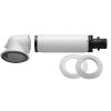 Bosch Kondenzációs Vízszintes Kivezető Szett PPS/ALU 60/100-as L=395-615mm AZB 916