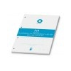 BOXER Gyûrûs könyv betét, A4, kockás, 50 lap, BOXER, fehér