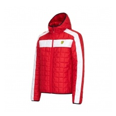 Branded Ferrari férfi kabát SF Packable red F1 Team 2016 - L