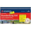 Brandenburg Süd - (von Berlin nach Brandenburg) kerékpáros túrakalauz - Kompass FF 6013