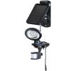 Brennenstuhl 1170830 napelemes LED falilámpa, IP44, mozgásérzékelővel 50lm, 3m kábel, fekete