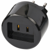 Brennenstuhl Travel Adapter USA - Euro with 2.5A fuse