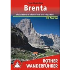 Brenta (mit Adamello, Presanella und Paganella) - RO 4181 térkép