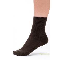 Brigona Komfort gumi nélküli zokni - barna 35-36