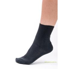 Brigona Komfort gumi nélküli zokni - szürke 35-36