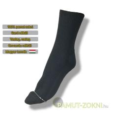 Brigona Komfort gumi nélküli zokni - szürke 43-44