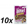 Brit Lets Bite Sharks Jutalomfalat, 10x150 g