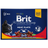 Brit Premium Cat Meat Plate Multipack 400g