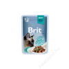 Brit Premium Cat tasakos Delicate Fillets in Gravy with Beef 85g