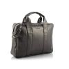 Brodrene elegáns férfi laptop táska sötétbarna