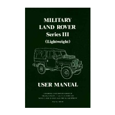 Brooklands Books Ltd Land Rover Series 3 Military Lightweight Handbook idegen nyelvű könyv