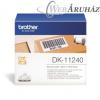 "Brother ""Brother DK-11240 tekercs (102 x 51mm) - 600db/tekercs"""