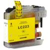 Brother LC223XL Y yellow festékpatron - utángyártott chipes PT 10ml J4120DW J4420DW J4620DW J5320DW J5620DW
