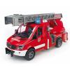 Bruder MB Sprinter tűzoltó vízpumpával (02532)