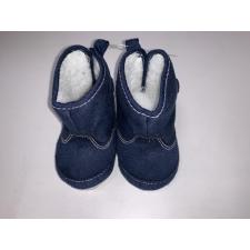 BUBABA Bubaba babacipő tépőzáras| béléses 6-9 hó - Sötétkék gyerek cipő