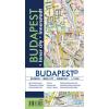 Budapest - BUDAPEST BELVÁROS TÉRKÉP 1:11500