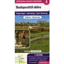Budapesttől délre 1 : 65 000 - Turistatérkép térkép