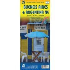 Buenos Aires és Északkelet-Argentína térkép - ITM térkép