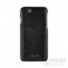BUGATTI Londra Apple iPhone 8/7 valódi bőr hátlap tok kártyatartóval, fekete