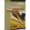 Bujdosó Hajnalka, Tóth Ákos 77 SZÖVEGALKOTÁSI FELADAT MAGYAR NYELV ÉS IRODALOMBÓL