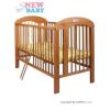 Bükkfa kiságy New Baby Natalie - természetes | Természetes |
