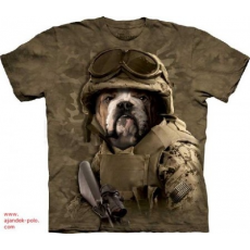 BULLDOG TENGERÉSZ GYALOGOS MILITARY The Mountain póló