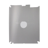 Bullkin Carbon matrica Apple iPad 2-höz ezüst