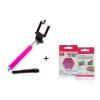 Bundle Selfiebot RC-vel, rózsaszín-rózsaszín
