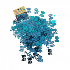 BWH Kisfiús kék konfetti babaszületésre - 14 gramm konfetti