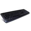 C-Tech KB-102 PS / 2 slim fekete
