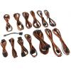 CableMod SE-Series KM3 & XP2 Cable Kit - Fekete/Narancssárga